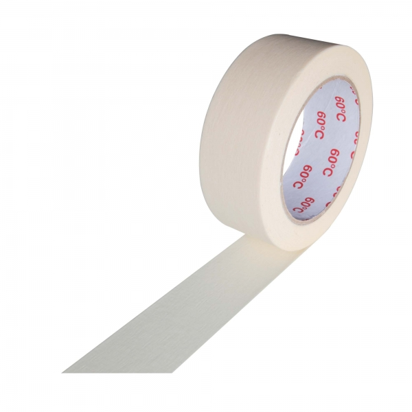 Kreppband Profi Maler-Krepp für den Innenbereich 38 mm x 50 m