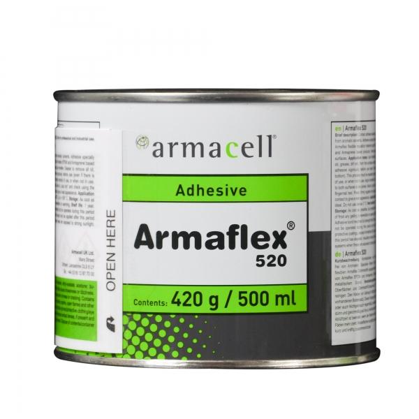 Armaflex® Kleber 520 für Kautschuk-Platten und Schläuche 0,5 Liter Dose