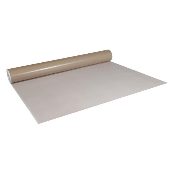 Abdeckpappe Milchtütenpapier weiß/braun 1,3 x 42 m beidseitig PE Folie beschichtet 250 g/m²