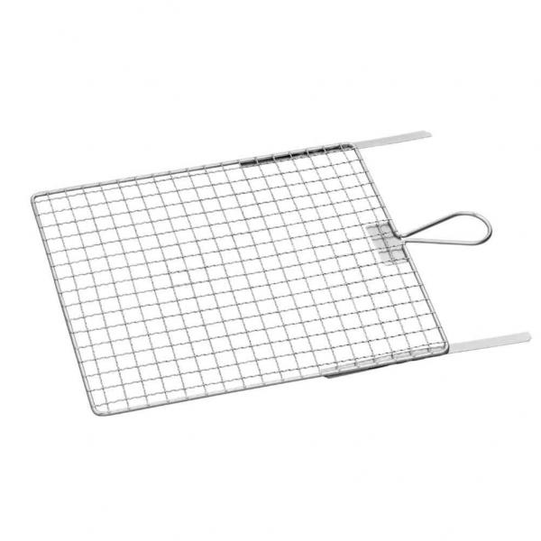 Abstreifgitter 26 x 30 cm, Metall verzinkt mit Biegestreifen