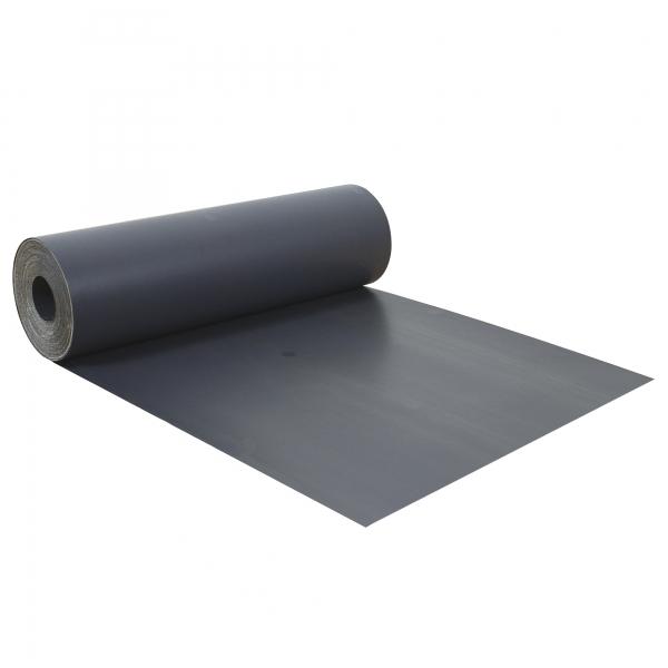 Abdeckpappe Milchtütenpapier grau 0,62 x 56 m schwere Qualität beidseitig PE beschichtet 300 g/m²