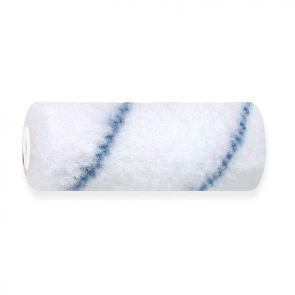 Beschichtungswalze 10 cm Nylon Blaufaden, Polhöhe 11 mm, Kern 17 mm