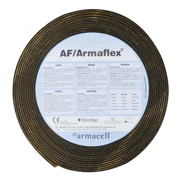 AF Armaflex® Kautschuk Klebeband für XG Platten schwarz 50 mm x 15 m