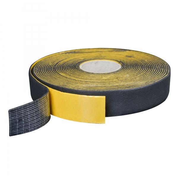 Kautschuk Klebeband für Armaflex® XG Platten schwarz 50 mm x 15 m