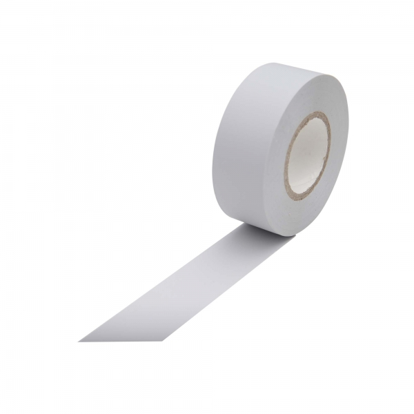 PVC Klebeband hellgrau für PVC-Ummantelung 19 mm x 25 m