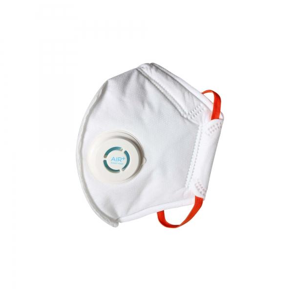 AIR+ Atemschutzmaske Feinstaubmaske FFP3 mit Ausatemventil