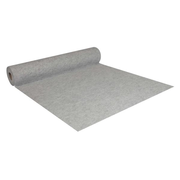 Abdeckvlies selbstklebend 1 x 25 m TeppichTurbo Teppich Schutzvlies grau 100 g/m²