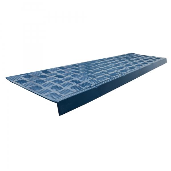Treppenkanten Schutz-Profil weich blau 0,90 x 0,26 m