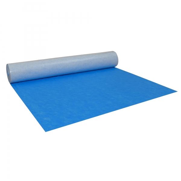 Treppenschutzvlies Blau 25 m² Abdeckvlies selbstklebend 160 g/m²