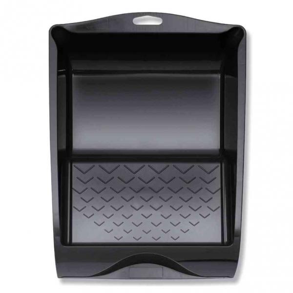 Farbwanne 32 x 36 cm, Kunststoff schwarz