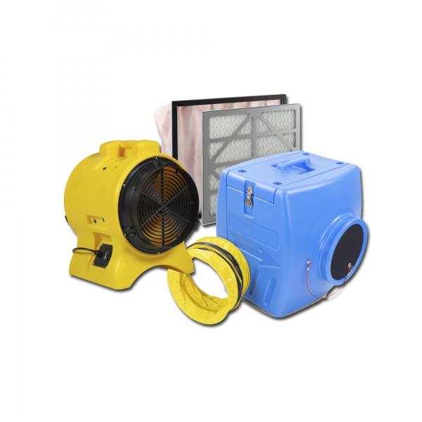 Staubfilterbox 350 Setpaket 1 Filterset G4 und F7 und Staubabsaugung S3500