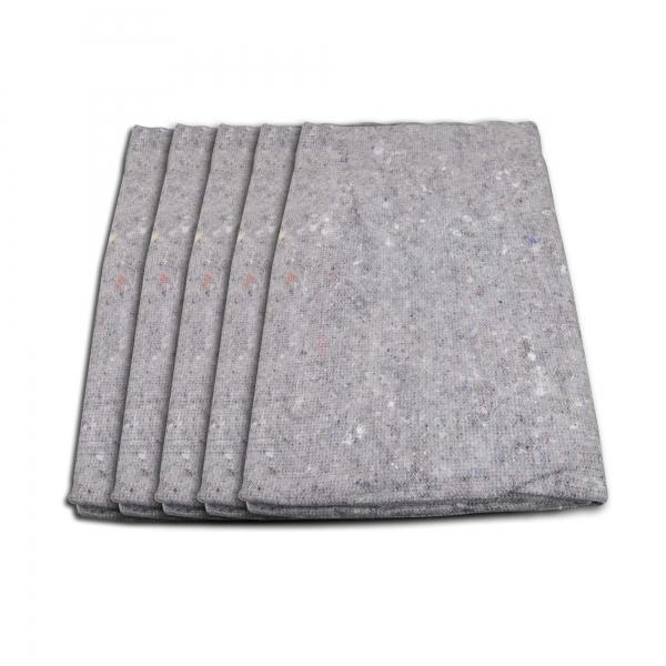Packdecke Handwerkerdecke Umzugsdecke 5-Set 1,50 x 2,00 m