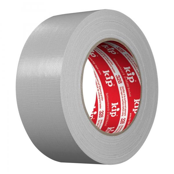 KIP ® 328 UV-Gewebeklebeband extra Premium Plus 50 mm x 25 m