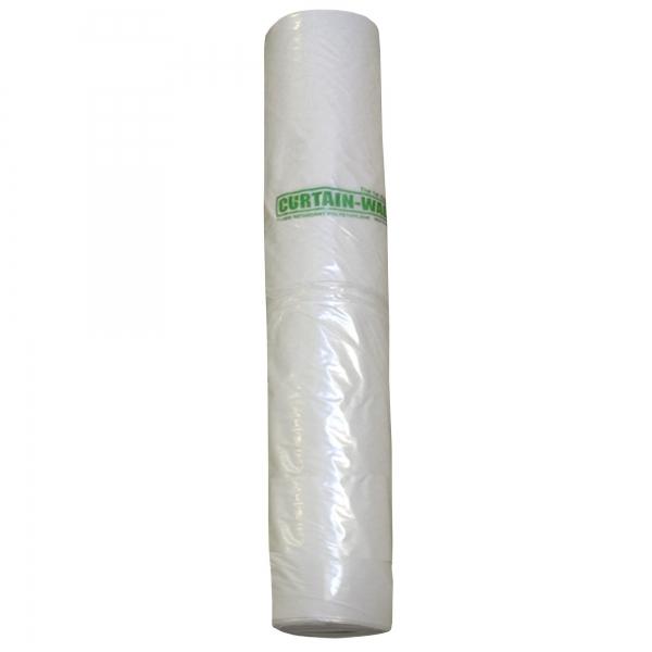 Schutzfolie schwerentflammbar für Curtain-Wall Staubschutzwand Rolle 45 m x 400 cm