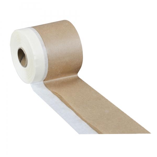 Papier mit Klebeband 10 cm x 20 m