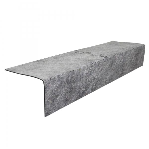 Treppenkanten Schutz-Profil atmungsaktiv 0,46 x 1 m Treppenstufen Schutz 850 g/m²