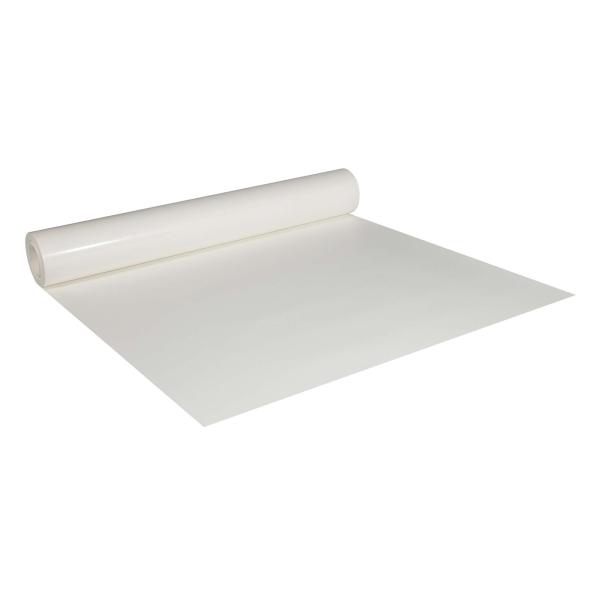 Abdeckpappe Milchtütenpapier weiß 1 x 55 m beidseitig PE Folie beschichtet 200-220 g/m²