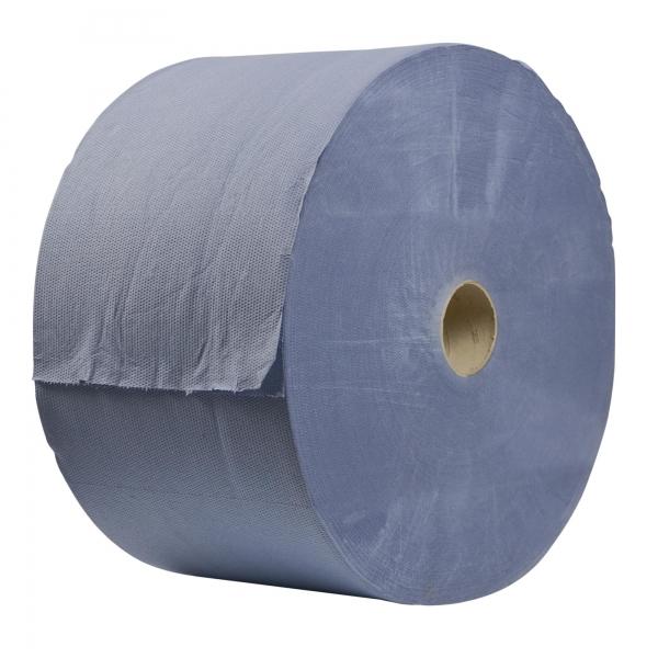 Industrieputztuch Rolle 3-lagig 1000 Blatt blau