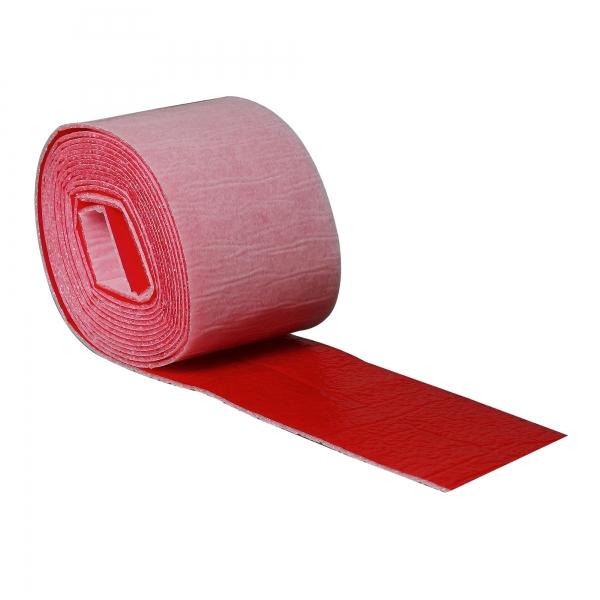 PE Wickelband mit Dampfsperre 70 mm rot selbstklebend